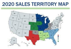 2020 Sales Territories